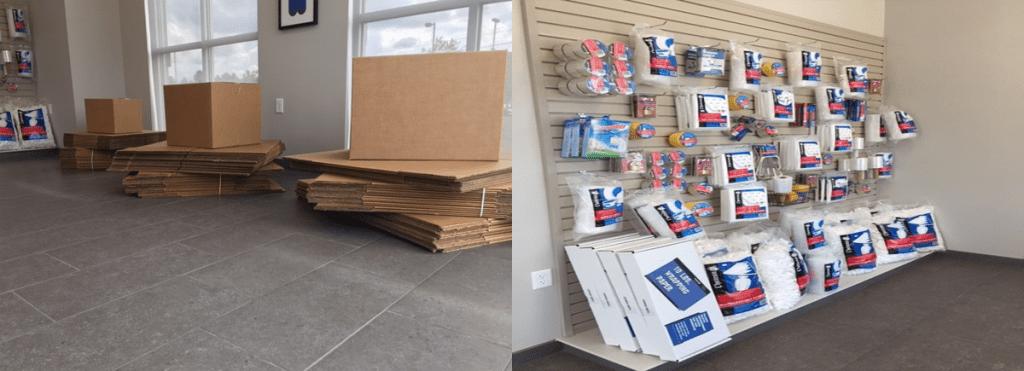 Senttry storage supplies
